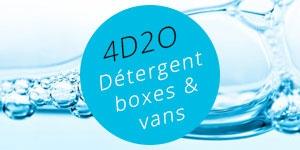 4D2O - Détergent spécial boxes et vans
